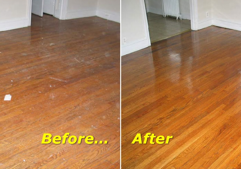 Refinish Worn Hardwood Floors - Reno-Tahoe-Neva