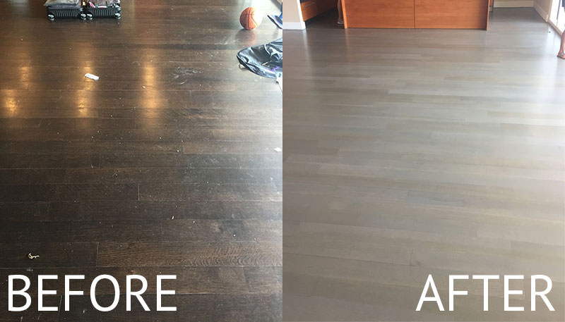 Hardwood Floor Refinishing in Dallas - W Hot