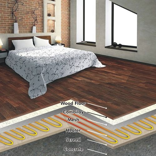 FLOOR HEATING UNDER SOLID WOOD FLOORING (With images)   Solid wood .