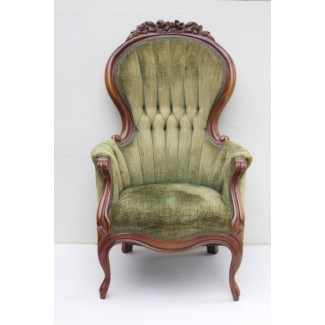 Vintage High Back Chair - Ideas on Fot