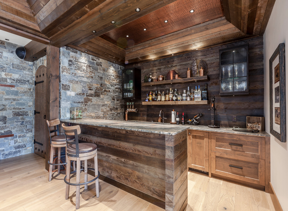18 Marvelous Rustic Home Bar Ideas For Pure Enjoyme