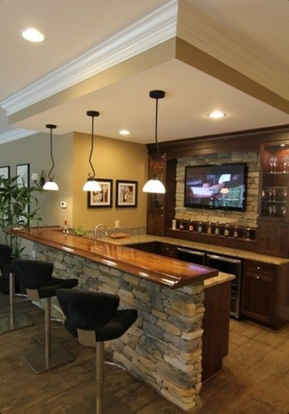 Top 40 Best Home Bar Designs And Ideas For Men | Bars for home .