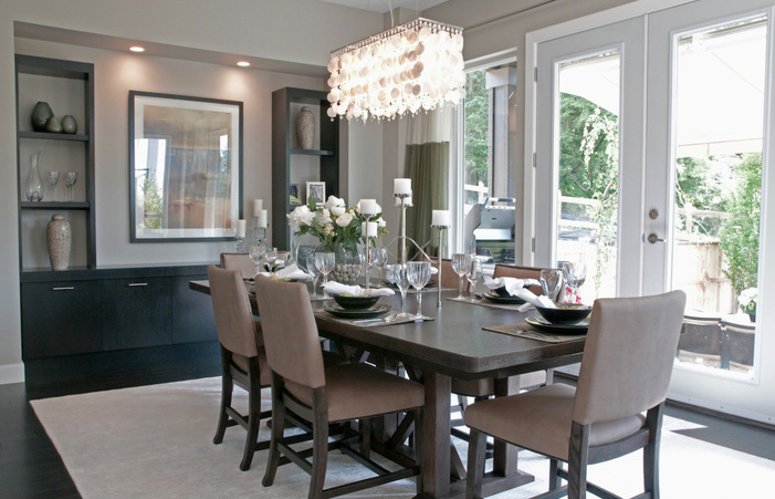 Home Designs With Small Chandeliers