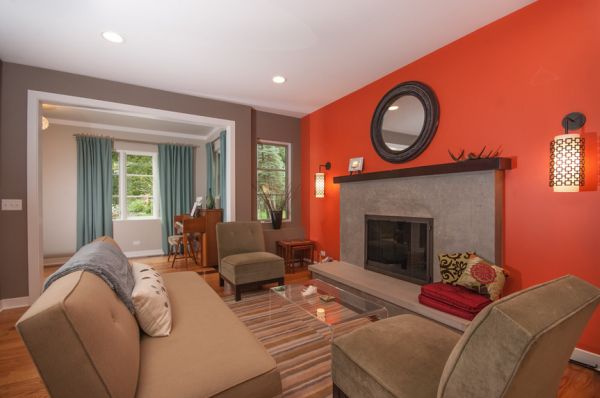 Decorating Your Home's Interior with Bold Colo
