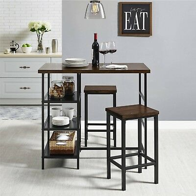 Pub Table Set Small Kitchen Dining Sets Bar Tables And Chairs .
