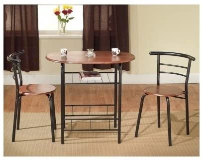 Amazon.com - Bistro Table Set Indoor for 2 Kitchen Small - Table .