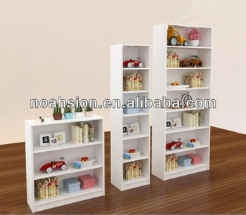 Fashion White Wooden Kids Bookcases/children Bookshelf - Buy .