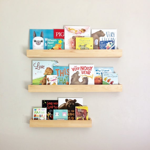 Book Ledges Kids Bookshelf Kids Bookshelves Wood Book | Et