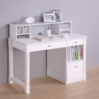 Kids White Desk With Hutch for 2020 - Ideas on Fot