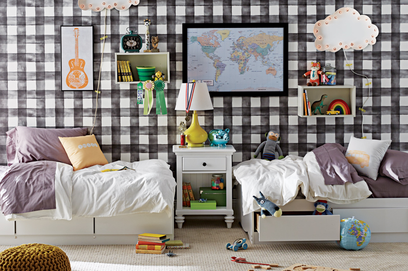 Modern Farmhouse Kids Room – Shop by Room – The Home Dep