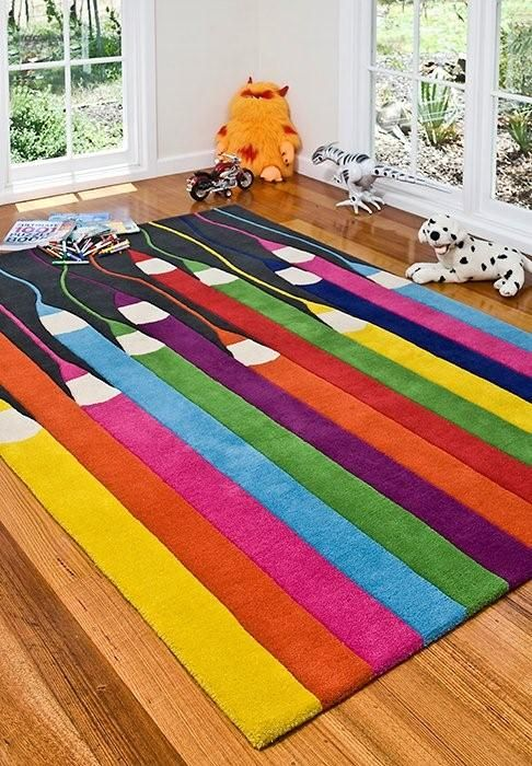 Kids' Rugs Are Not Just For Decoration, But An Educational Method .