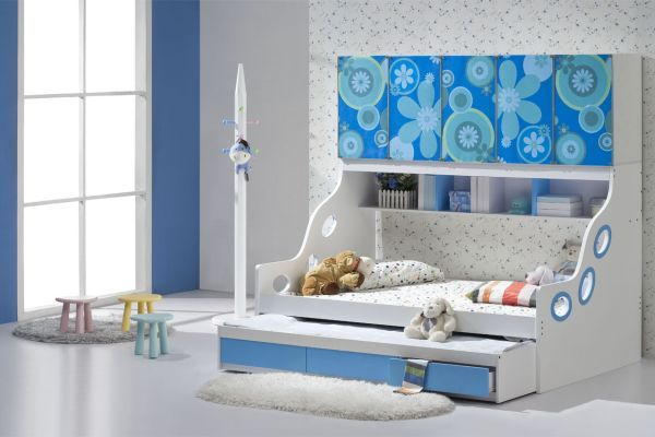 24 Cool Trundle Beds for Your Kids Room | Toddler trundle bed, Kid .