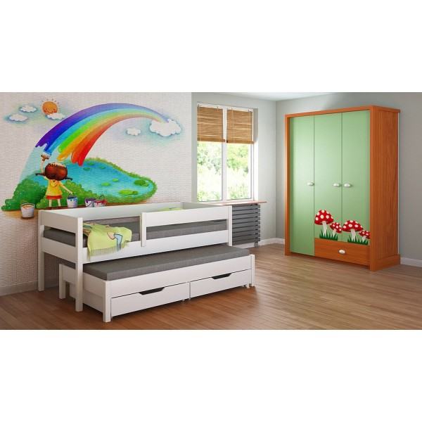 Trundle Bed For Kids and Childr
