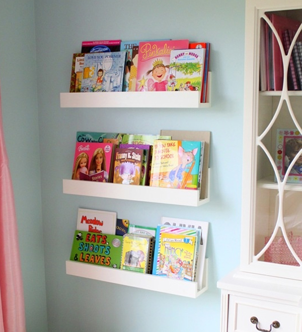 10 Cute Minimalist Bookshelves For Kids Rooms | HomeMydesi