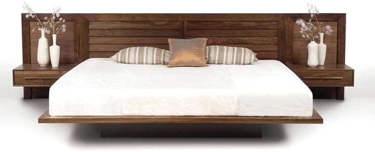 Image result for king headboard with built in nightstands | Bed .
