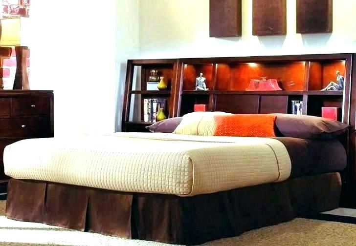 King Size Headboard With Storage And Lights