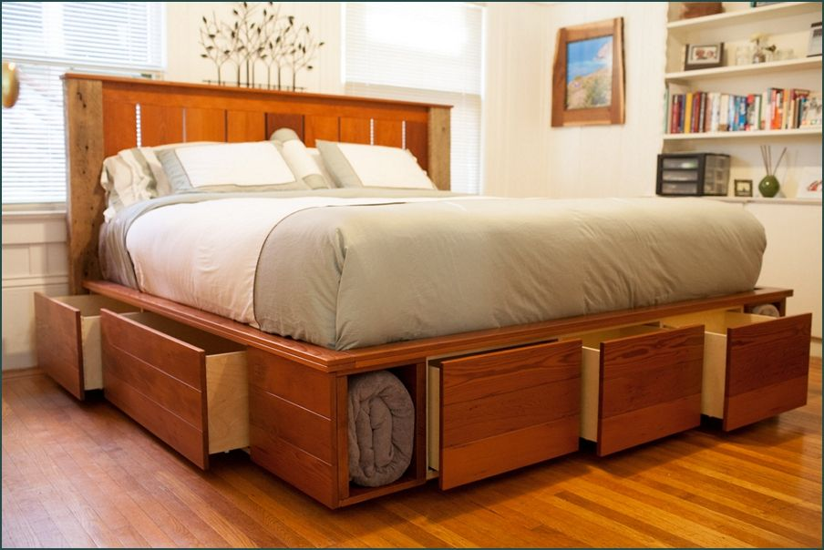 King Size Captains Bed With 12 Drawers | Stylish bedroom furniture .