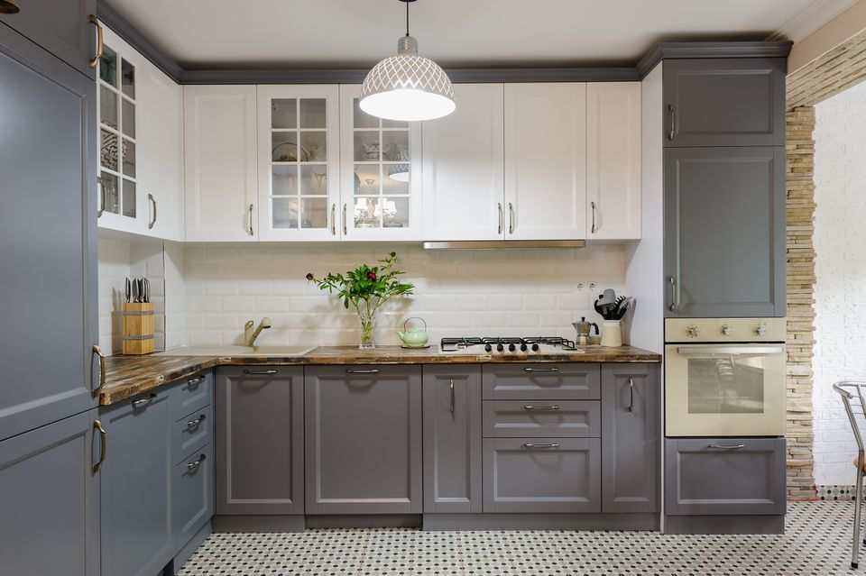 Painted Kitchen Cabinet Ide