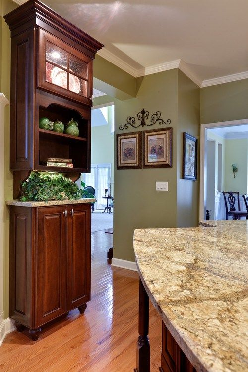 Kitchen Color Schemes With Cherry Cabinets