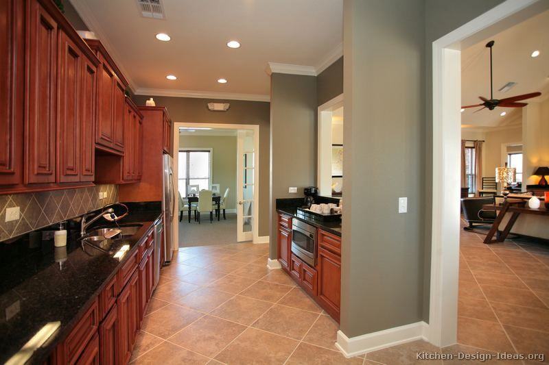 Pictures of Kitchens - Traditional - Medium Wood Kitchens, Cherry .
