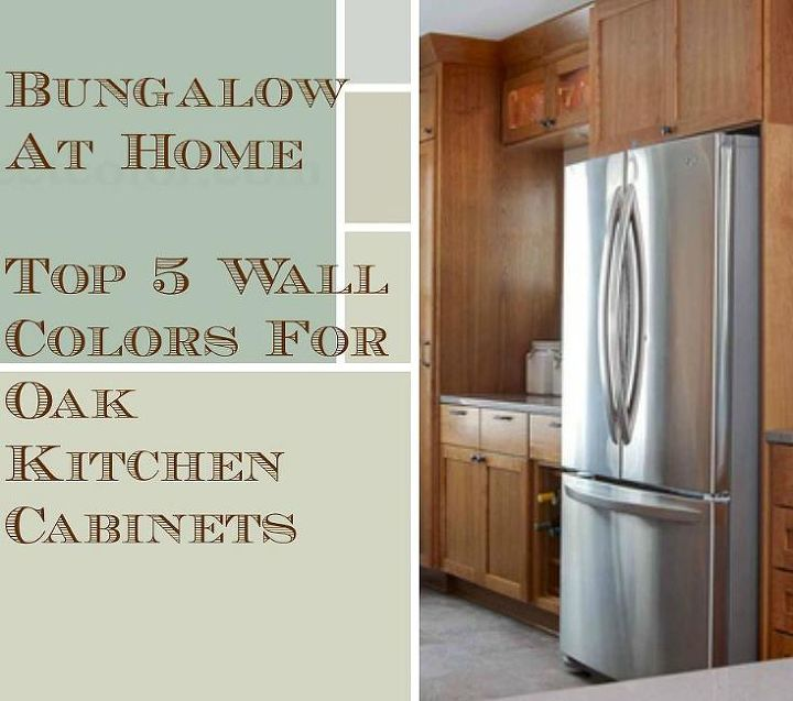 5 Top Wall Colors For Kitchens With Oak Cabinets | Hometa