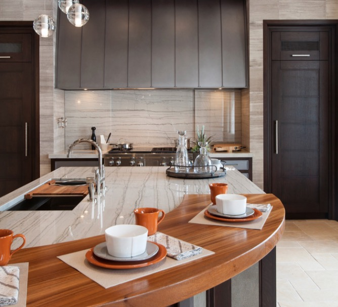 kitchen Countertop Ideas: 30 Fresh and Modern Loo