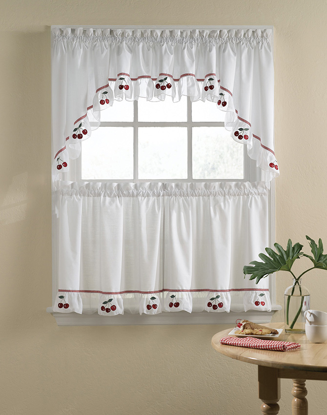 Kitchen Curtains Grapes Design at Kutsko Kitch