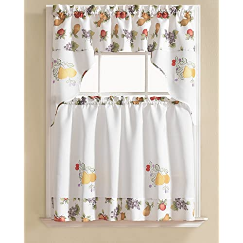 Designer Kitchen Curtains: Amazon.c