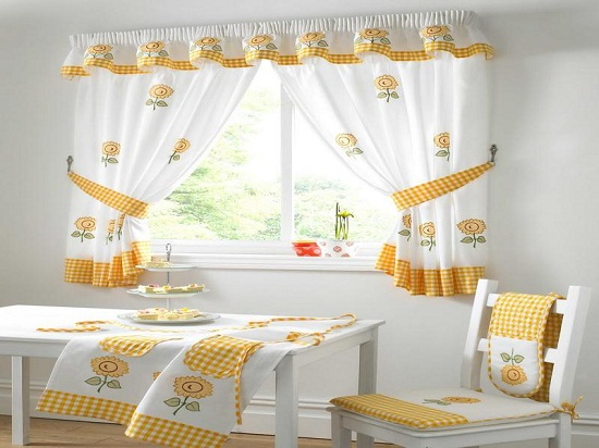 8 Homemade Kitchen Curtains Ideas | Real Estate Weekly: Smart Home .