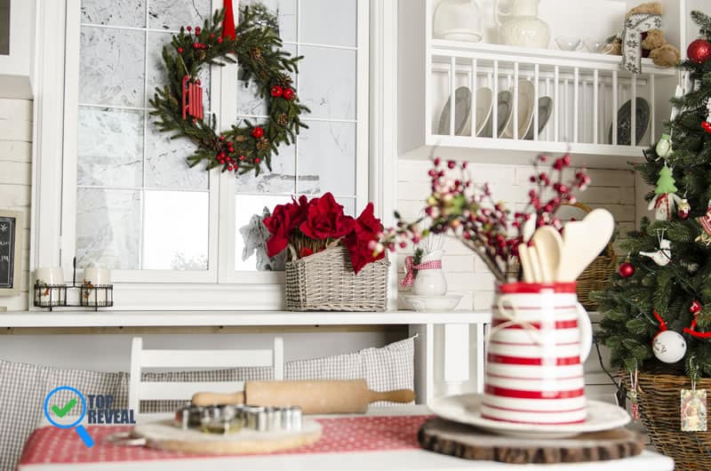 30 Christmas Kitchen Decor Ideas: Merrier in Cooking – Top Reve