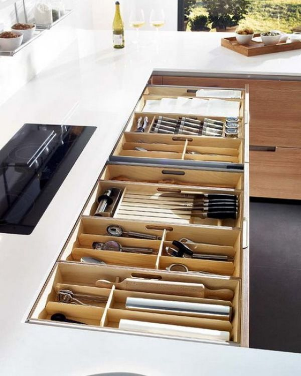 15 Kitchen drawer organizers – for a clean and clutter-free déc