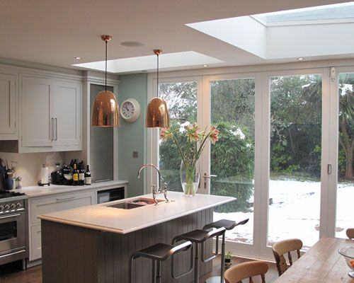 kitchen extensions before and after - Google Search | Kitchen .