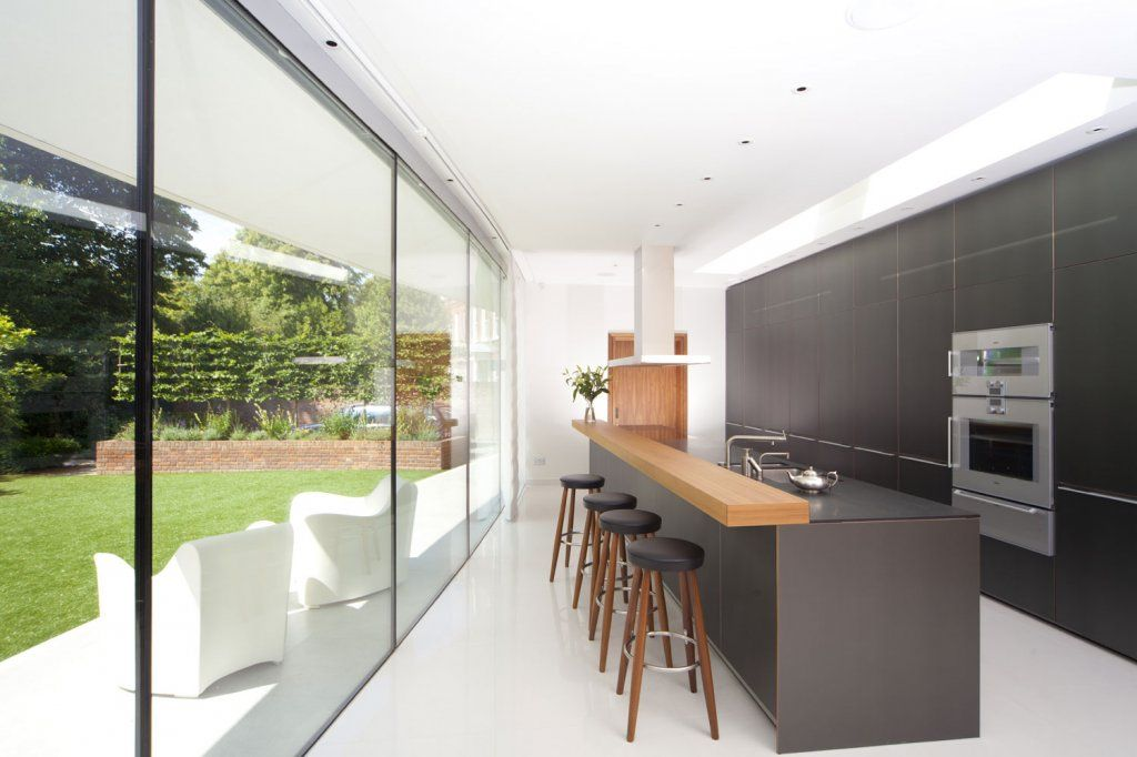 narrow, but long kitchen extension idea (With images) | Long .