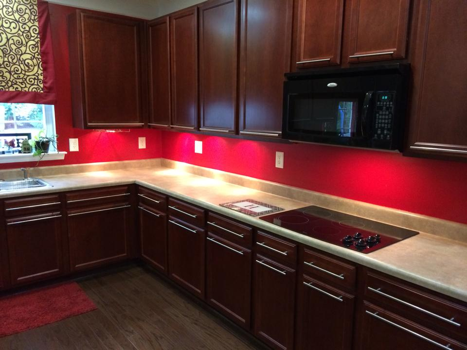 makeovermonday / a home tour of our kitchen – before & after RED .