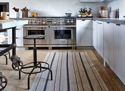 The Best Kind of Rug for Kitchens - PureW