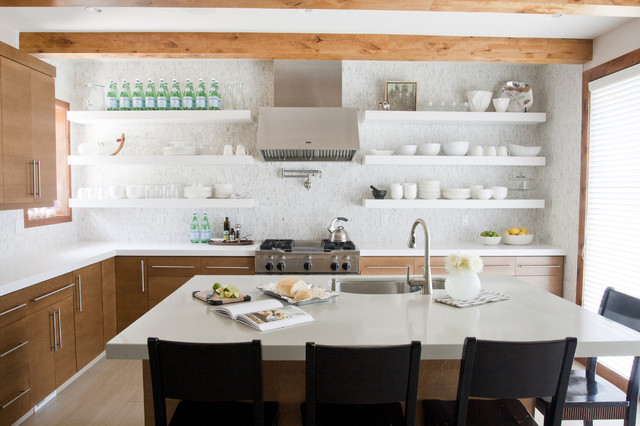 Pros and Cons of Open Shelving in the Kitchen | Airy Kitche