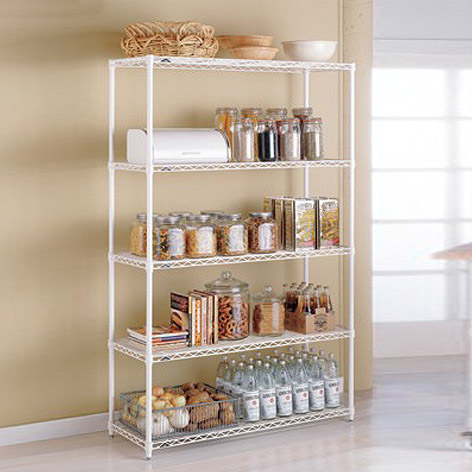 Metal Kitchen Shelves - InterMetro Kitchen Shelves | The Container .