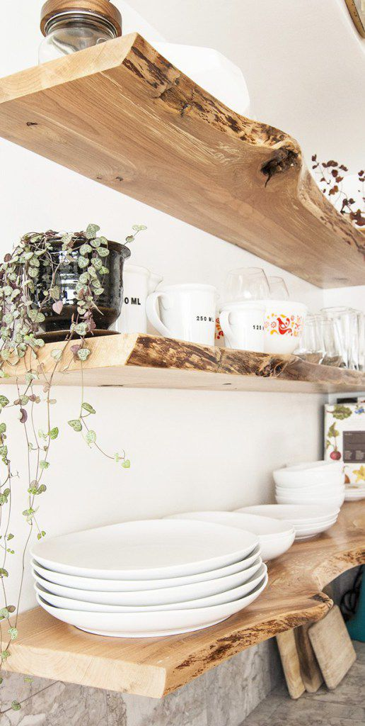 10 Beautiful Open Kitchen Shelving Ide