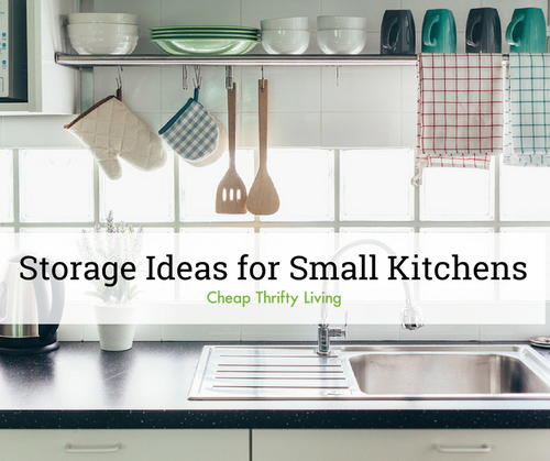 19 Clever Storage Ideas for Small Kitchens | CheapThriftyLiving.c