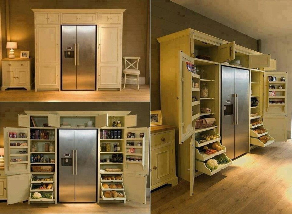 Smart Storage Ideas For Small Kitchens Drawhome Kitchen Design .