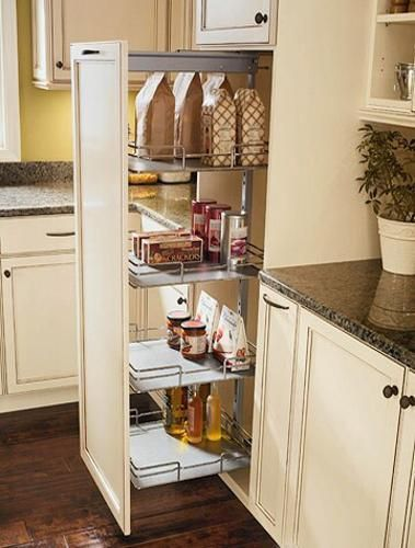 30 Space Saving Ideas and Smart Kitchen Storage Solutions | Space .