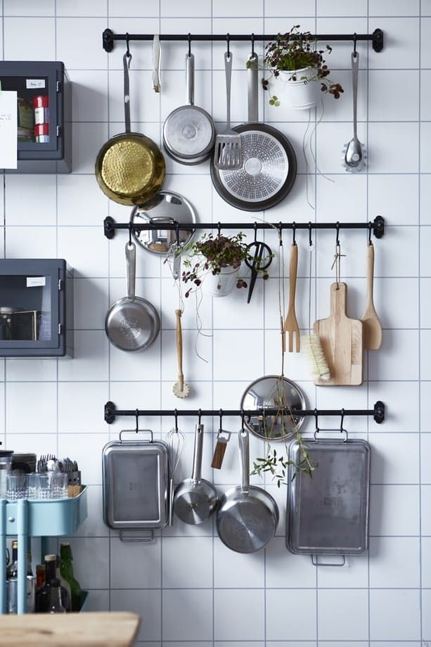 The Easy-to-Add Super-Stylish Storage Solution Every Kitchen Needs .