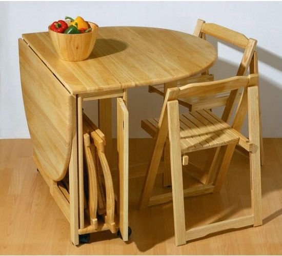 How To Choose Dining Tables For Small Spaces | Small kitchen .