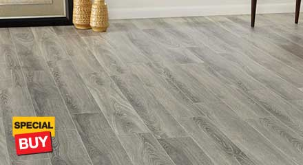White - No Underlayment - Laminate Wood Flooring - Laminate .
