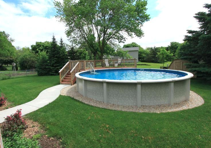 Image result for above ground pool landscaping ideas free | Above .
