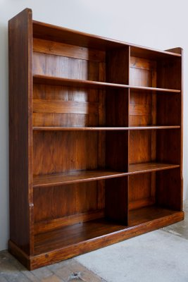Large Tool Cabinet or Bookshelf, 1930s for sale at Pamo
