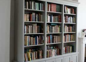 We have just got rid of bookcases like this - it broke my heart .