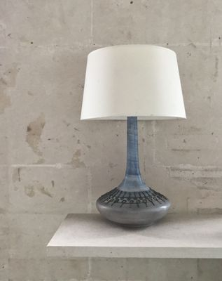 Large Ceramic Table Lamp from Cera Sapa, 1960s for sale at Pamo