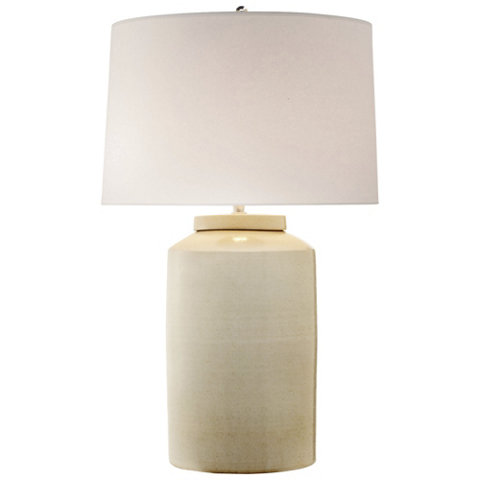 Carter Large Table Lamp in White - Table Lamps - Lighting .