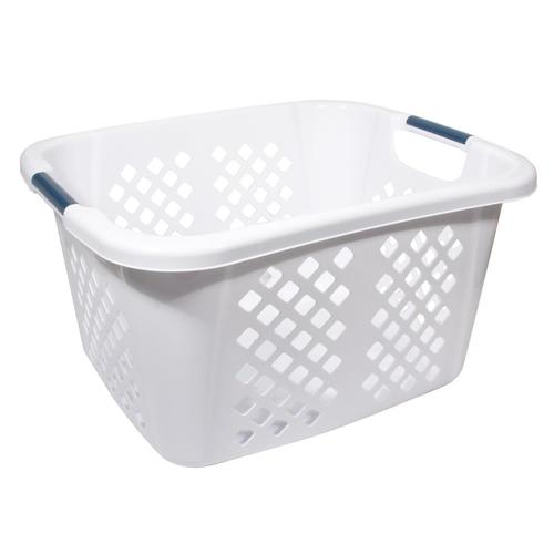 Home Logic 1.5-bushel Plastic Laundry Basket at Lowes.c